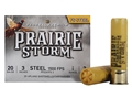 "Federal Premium Prairie Storm Ammunition 20 Gauge 3"" 7/8 oz #3 Steel Shot Shot Box of 25"