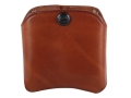 El Paso Saddlery Double Magazine Pouch Double Stack 9mm, 40 S&W Magazine Leather Russet Brown