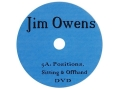 Jim Owens Video &quot;Position: Sitting and Offhand&quot; DVD