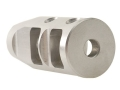 "Product detail of JP Enterprises Bennie Cooley TactiCal Muzzle Brake 223 Caliber 1/2""-28 Thread .750"" Outside Diameter Stainless Steel"