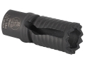 "Troy Industries Medieval Flash Hider 5.56mm AR-15 1/2""-28 Thread Matte"