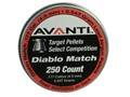 Avanti Diablo Match Airgun Pellets 177 Caliber 8.4 Grain Flat Nose Package of 200