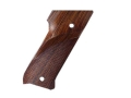 Hogue Fancy Hardwood Grips Ruger Mark II with Right Hand Thumbrest Checkered Cocobolo