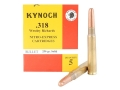 Kynoch Ammunition 318 Westley Richards 250 Grain Woodleigh Weldcore Solid Box of 5