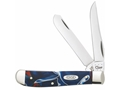 Case Mini Trapper Folding Knife Clip and Spey Stainless Steel Blade
