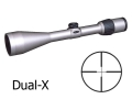 Product detail of Weaver Grand Slam Rifle Scope 3.5-10x 50mm Dual-X Reticle Silver