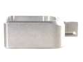 STI-Dawson Basepad +1 for STI-2011, SVI Magazines Anodized Aluminum Silver