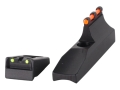 Williams Fire Sight Set Remington 597 (Post 2006) Aluminum Black Fiber Optic Red Front, Green Rear