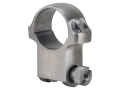 Ruger 1&quot; Ring Mount 6K Silver Extra-High