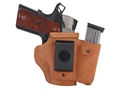 Galco Walkabout Inside the Waistband Holster Right Hand 1911 Defender Leather Brown
