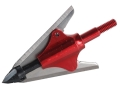 NAP Bloodrunner 2-Blade Deep Six Mechanical Broadhead 100 Grain Stainless Steel Pack of 3