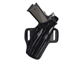 Product detail of Galco Fletch Belt Holster Right Hand Glock 26, 27, 33 Leather Black