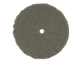 Cratex Abrasive Wheel Flat Edge 7/8&quot; Diameter 1/8&quot; Thick 1/16&quot; Arbor Hole Coarse Bag of 20