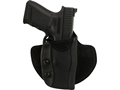 Military Surplus Paddle Holster Grade 1 Right Hand 1911 Officer, Glock 19, 23, 26, 27, HK USP, Sig P225, P228, P239 Composite Black