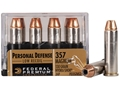 Product detail of Federal Premium Personal Defense Reduced Recoil Ammunition 357 Magnum 130 Grain Hydra-Shok Jacketed Hollow Point Box of 20