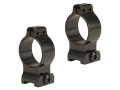Talley 1&quot; Quick Detachable Scope Rings With Screw Lock Matte High