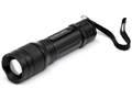 Cyclops TF-300 Tactical Flashlight with 3 AA Batteries Aluminum Black