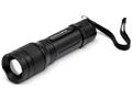 Cyclops TF-300 Tactical Flashlight with 3 AA Batteries Aluminum Black