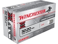Winchester Super-X Ammunition 32-20 WCF 100 Grain Lead Flat Nose Box of 50