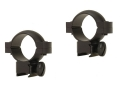 "Tasco 1"" Rings Rimfire, Airgun Matte"