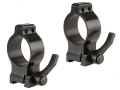 "Talley 1"" Quick Detachable Scope Rings With Lever Matte High"