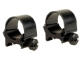 "Weaver 1"" Top-Mount Rings Gloss Medium"