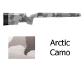 McMillan A-5 Rifle Stock Remington 700 BDL Short Action Varmint Barrel Channel Fiberglass Molded-In Arctic Camo Semi-Inletted