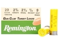 Remington Gun Club Target Ammunition 20 Gauge 2-3/4&quot; 7/8 oz #9 Shot Box of 25