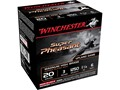 "Winchester Super-X Super Pheasant Ammunition 20 Gauge 3"" 1-1/4 oz #6 Copper Plated Shot"