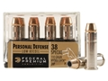 Product detail of Federal Premium Personal Defense Reduced Recoil Ammunition 38 Special 110 Grain Hydra-Shok Jacketed Hollow Point Box of 20