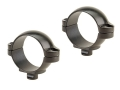 "Leupold 1"" Quick-Release Rings Matte Super Low"