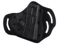 DeSantis Intimidator Belt Holster Right Hand Smith & Wesson M&P 9, 40 Kydex and Leather Black