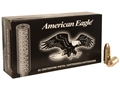 Federal American Eagle Suppressor Ammunition 9mm Luger 124 Grain Full Metal Jacket Subsonic Box of 50