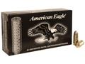 Federal American Eagle Suppressor Ammunition 9mm Luger 124 Grain Full Metal Jacket Subsonic Box of 50
