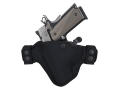 Bianchi 4584 Evader Belt Holster Left Hand Glock Nylon Black