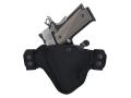 Bianchi 4584 Evader Belt Holster Left Hand Glock Nylon Black
