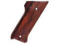 Product detail of Hogue Fancy Hardwood Grips Ruger Mark II Cocobolo