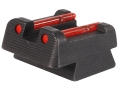 HIVIZ Rear Sight CZ 75, 83, 85, 97, P-01 Fiber Optic Red