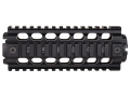 Product detail of ERGO 2-Piece Z Rail Handguard Quad Rail AR-15 Carbine Length Aluminum Black