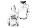 Hard Core Men's Snow Goose 3rd Edition Hooded Sweatshirt Synthetic Blend White