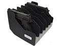 Benchmaster Pistol Rack 6-Gun Closed Cell High Density Foam Black
