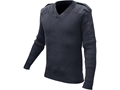 Military Surplus British Commando Sweater V-Neck Grade 2 Navy Blue
