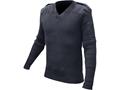 Military Surplus British Commando Sweater V-Neck Grade 2 Navy Blue