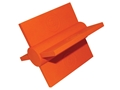 Do-All Impact Seal Ground Bouncing Paddle Wheel Reactive Target Self Healing Polymer Orange