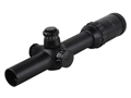 Sightmark Triple Duty M4 Rifle Scope 30mm Tube 1-6x 24mm Illuminated Circle Dot Duplex Reticle Matte
