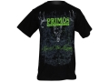 Primos Men's AOP Deer T-Shirt Short Sleeve Cotton Black and Green XL
