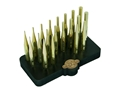 Grace USA 20-Piece Brass Punch Set with Bench Block