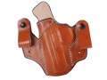 DeSantis Mad Max Tuckable Inside the Waistband Holster Left Hand Smith & Wesson M&P 9, 40 Leather Tan