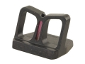"NECG See-Thru Rear Sight Blade Only Provides a .750"" Height Fiber Optic Red"