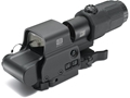EOTech EXPS3-4 Holographic Hybrid Sight I 65 MOA Circle with (4) 1 MOA Dots Reticle with G33 3X Magnifier and Switch to Side QD mount Matte